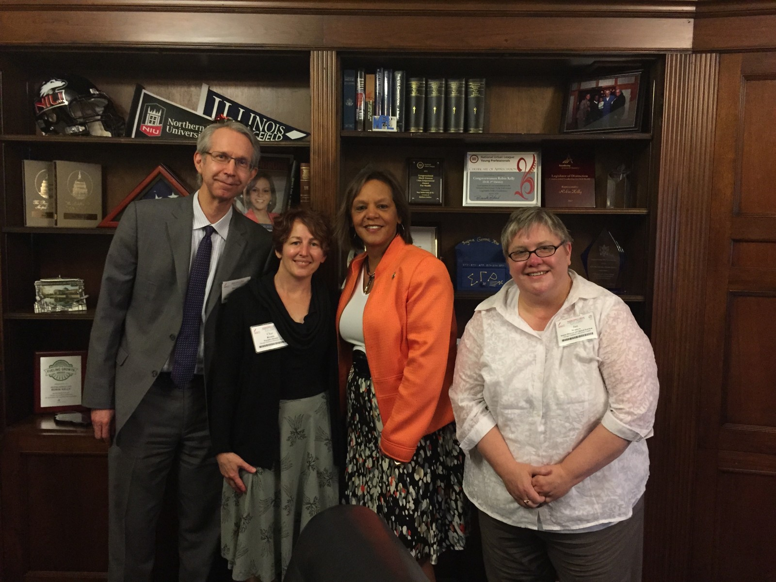 ChicagoCAC Staff with Rep. Kelly