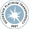 guidestar platinum transparency medal 2021